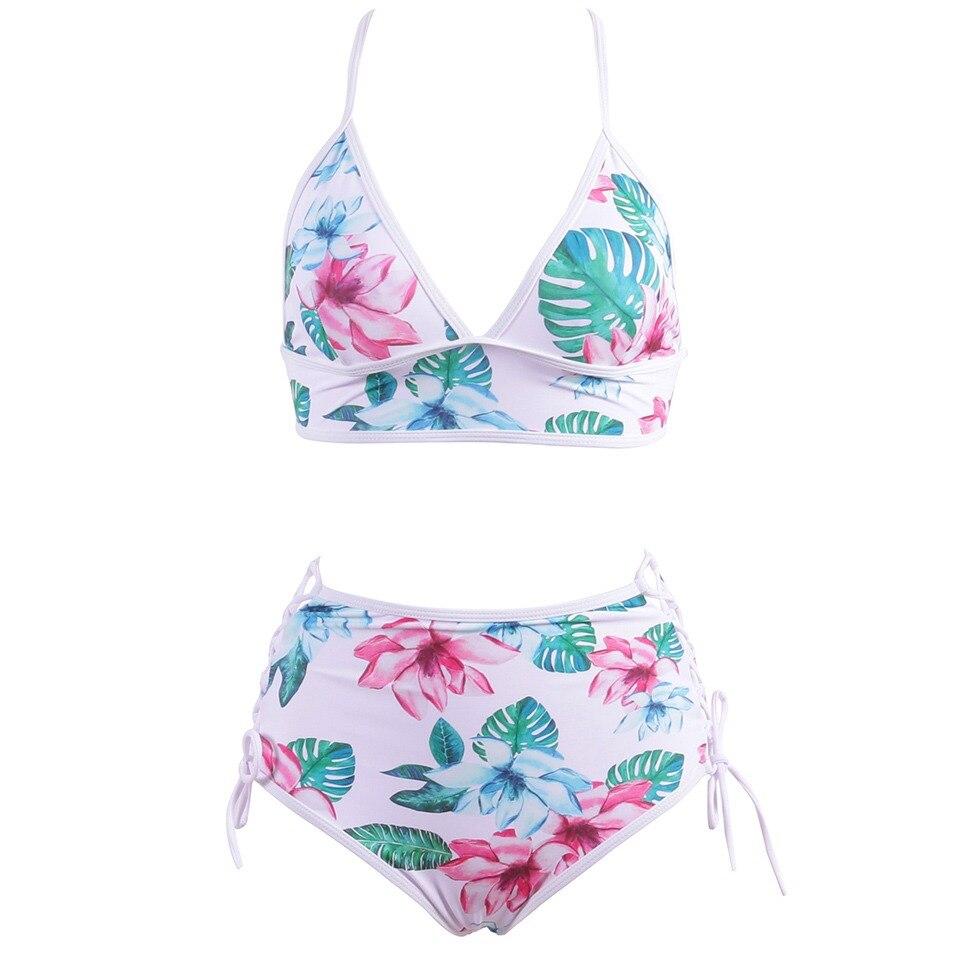 e59961f9f148ea Biseafairy Sexy Bandage Bikini Vrouwen Push Up Badmode Hoge Taille Badpak  2019 Print Braziliaanse Bikini Set