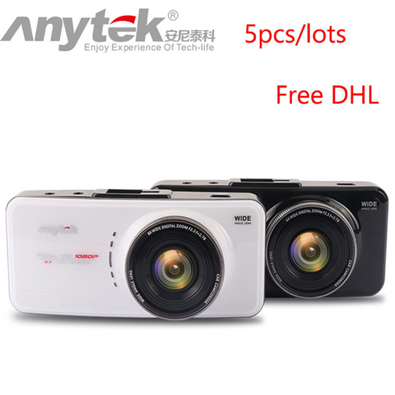5 teile/lose Freies DHL AT66A Auto DVR 2,7 ''Novatek 96650 Volle HD 1080 p Dash Cam 170 Grad Objektiv abendessen Nachtsicht Video Recorder