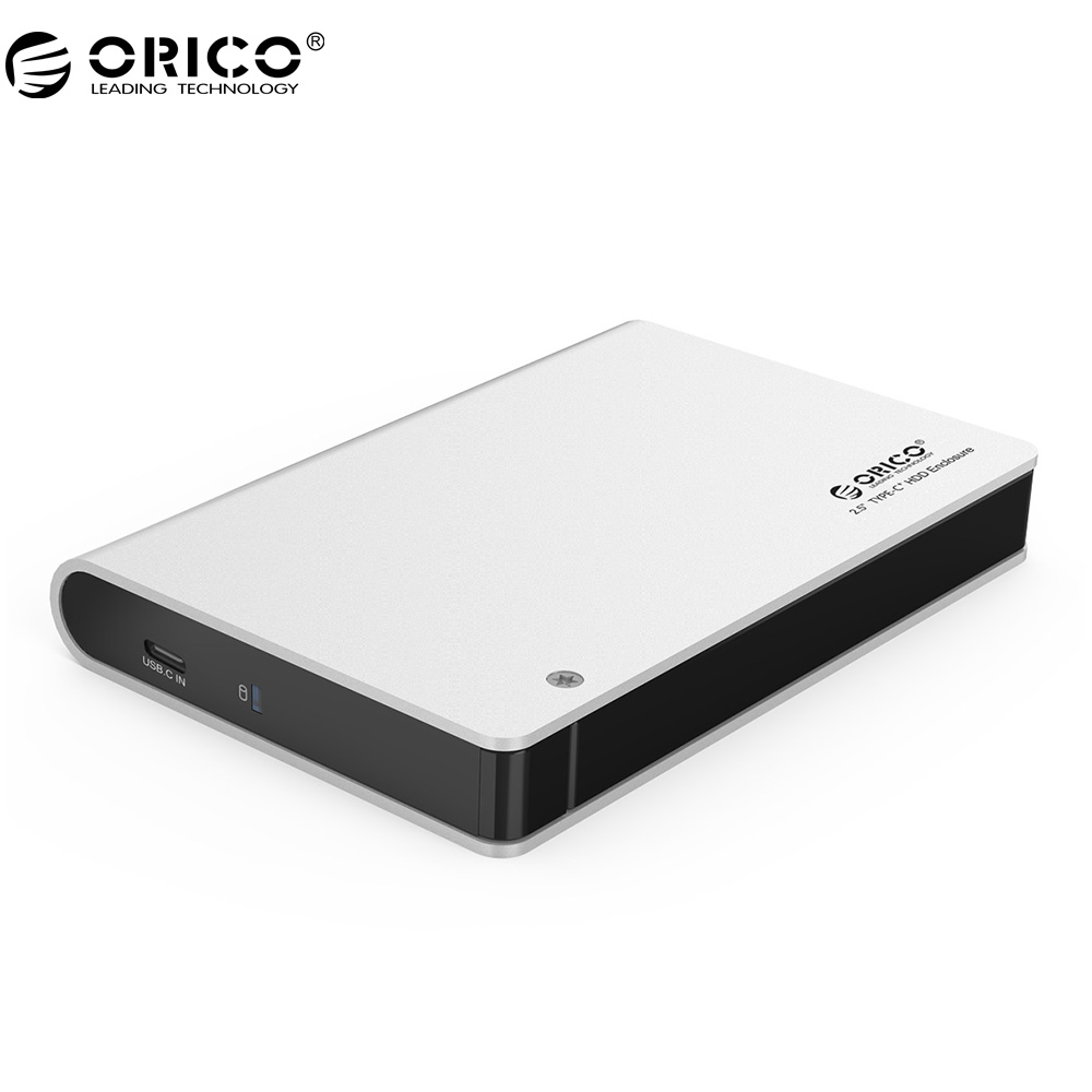 ORICO 2598C3 2 5 inch Hard Drive Enclosure with USB Type C Port for HDD SDD
