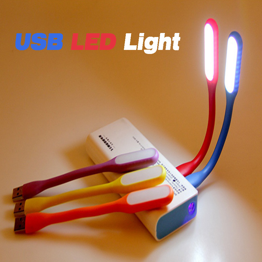 Augmicky Mini Adjustable Flexible 5V 1.2W LED Lamp For Power Bank Comupter Notebook USB Table Light Protect Eye Lights Gadget