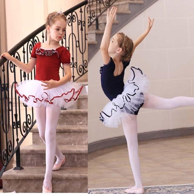 e153e33d2 Retail Girls Kids Dance Dress Ballet Tutu Dancewear Dresses Leotard ...