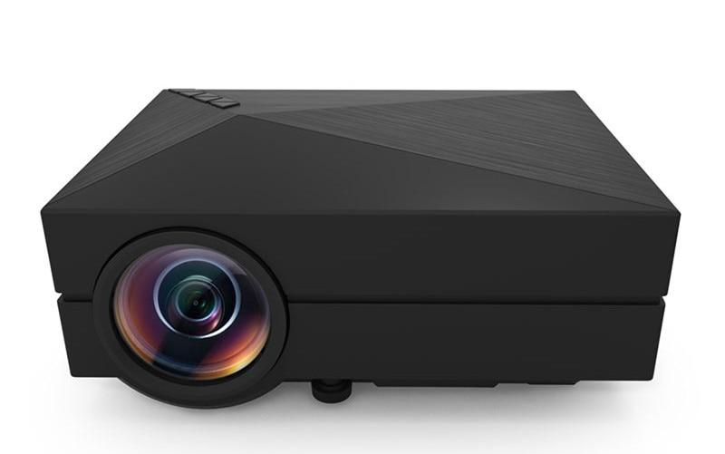 Original GM60 Cheap Mini Projector 1000 Lumens 1920 x 1080 Video USB VGA SD Home Video