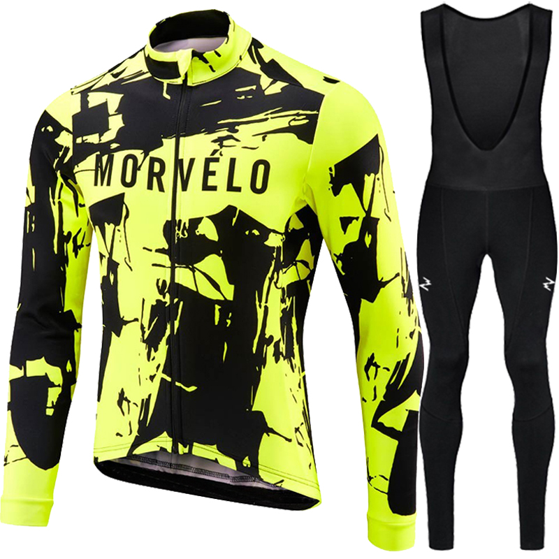 Image 5 - Runchita 2018 winter thermal fleece long sleeve set bicicleta maillot ciclismo kit bike winter cycling clothing Ropa de invierno-in Cycling Sets from Sports & Entertainment