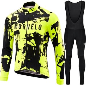 Image 5 - Runchita 2020 winter thermal fleece long sleeve set bicicleta maillot ciclismo kit bike winter cycling clothing Ropa de invierno