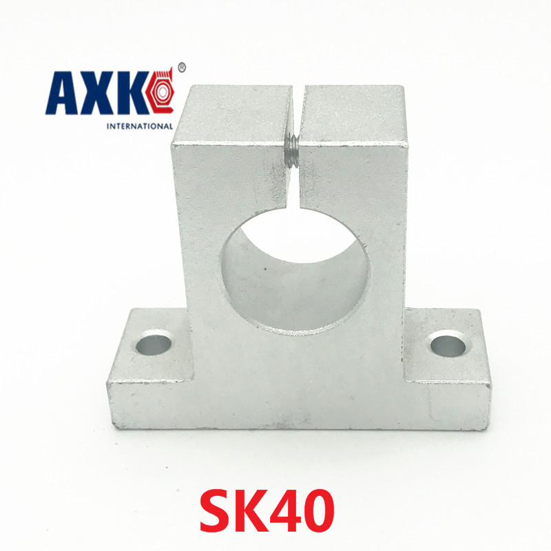 Axk 2pcs /lot Sk40 Sk Stand-up Shaft Support Cnc Linear Axis Support Base, Vertical Axis Bracket junior republic junior republic блузка трикотажная белая