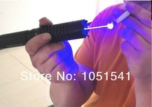 Sale Strong power military 300w 3000000mw 450nm blue laser pointers burning match/dry wood/candle/black/Cigarette+5 cap+charger+box