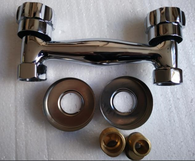 Купить с кэшбэком chrome plated supper quality brass material cold and hot water Mixing valve regulating bathroom use
