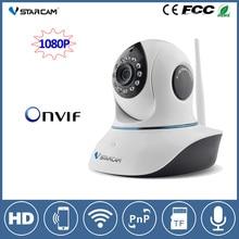 VStarcam 1080 P Wifi CCTV PTZ ip-камера 2-МЕГАПИКСЕЛЬНАЯ Full HD ночного Видения Беспроводной Домашней Безопасности ip-камера 2-полосная Аудио ONVIF наблюдения