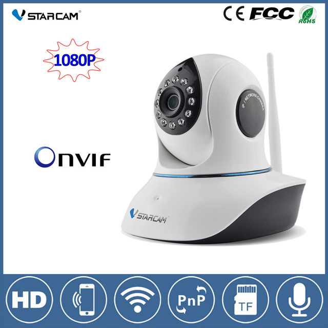 VStarcam C38S 1080P Wifi CCTV PTZ IP camera 2MP Night Vision Wireless Home Security camera IP 2-way Audio ONVIF Surveillance