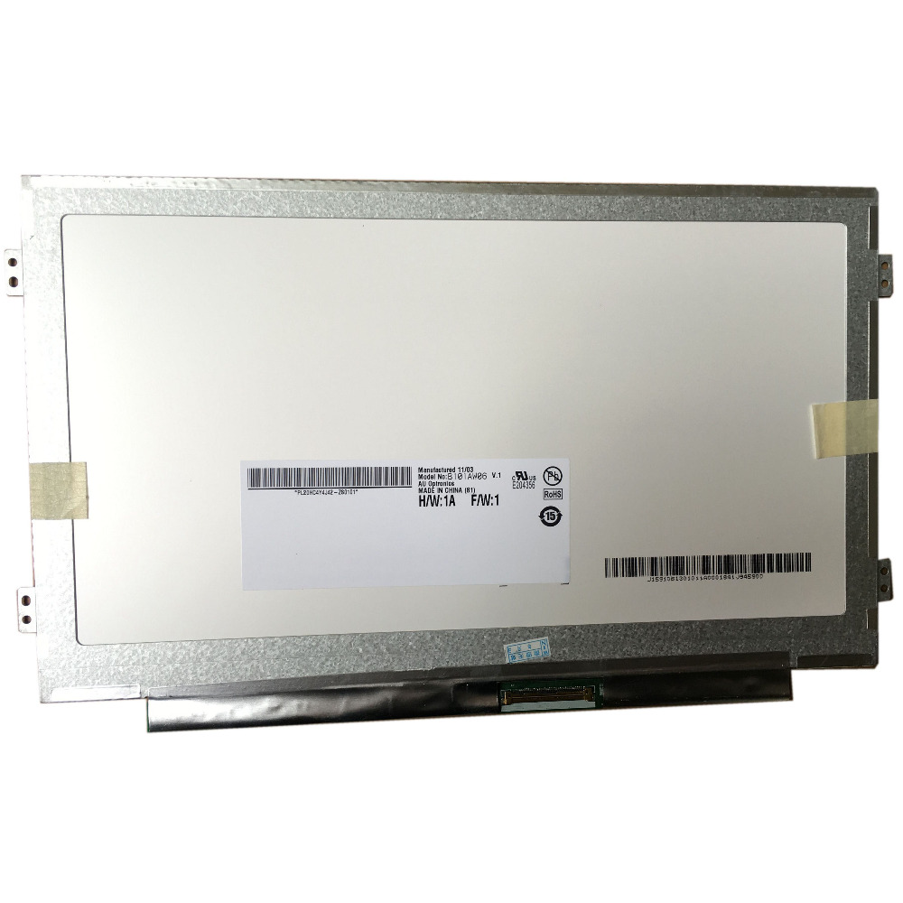 """10,1 """"slim Lcd Matrix B101aw06 V.1 Ltn101nt05 N101i6-l0d Ba101ws1-100 Für Acer Aspire One"""