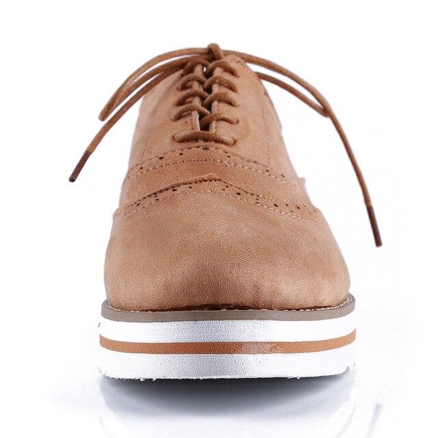 Ladies Creepers Brogue Shoe 3