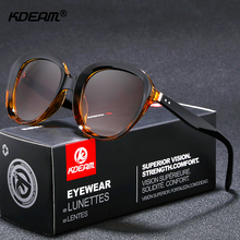 KDEAM Cubism-futurism Round Sunglasses Women Hollowed-out Design Fashion Sun Glasses UV400 Free Package