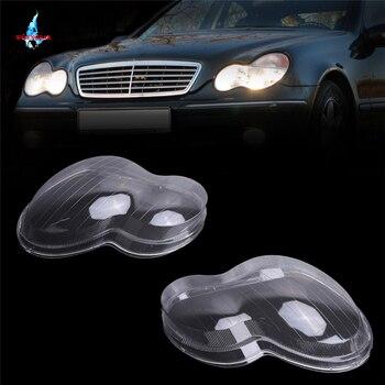 WISENGEAR фары чехол для стеклянных линз корпус лампы Чехлы для Mercedes Benz W203 C Класс C230 C280 C350 C240 C320 C200/