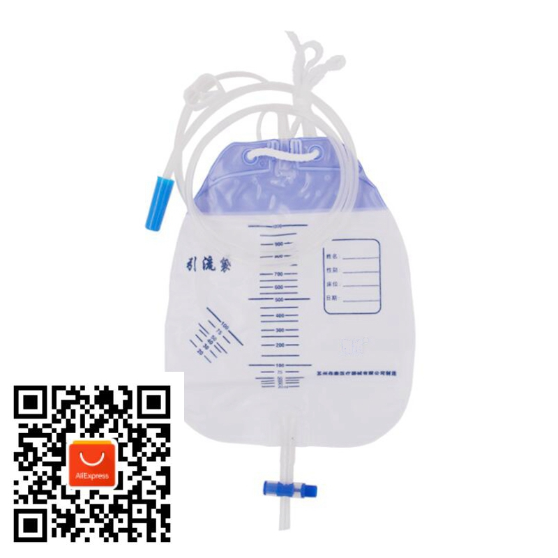 Detail Feedback Questions About 1500ml Male Female Urine Bag Urinary