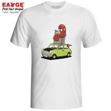 Mr Bean Driver T-shirt Comedy Drama TV Series Funny Novelty Creative Pop Active T Shirt Brand Punk Design Women Men Top