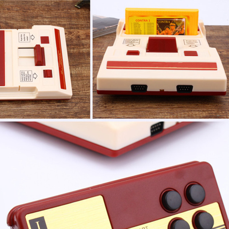 Image 4 - Hot Classic TV Video Game Console Retro Family Games Player 500 In 1 Card with Game Contoller for Children Gift-in Video Game Consoles from Consumer Electronics