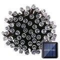 Новые приходят lederTEK солнечные фея огни строки 39ft 12 м 100 из светодиодов 8 режимов рождественские огни, Атмосфера освещения на открытом воздухе фонари на солнечных батареях