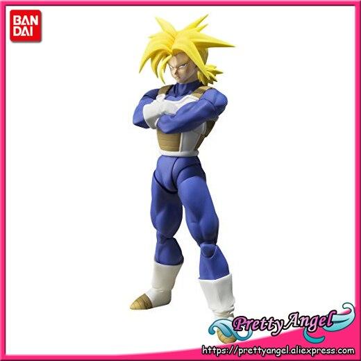 PrettyAngel - Genuine Bandai Tamashii Nations S.H.Figuarts Dragon Ball Z Super Super Saiyan Trunks Action Figure