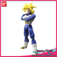 PrettyAngel Genuine Bandai Tamashii Nations S.H.Figuarts Dragon Ball Z Super Super Saiyan Trunks Action Figure