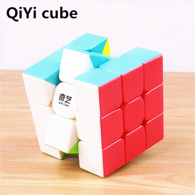 QiYi 3x3x3 Sail Magic Cube Warrior W Speed QiYi Cube stickerless Professional Puzzle Cubes Educational Toys For Children 8