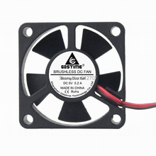 2Pcs Gdstime 35mm 35x35x10mm 5V 2Pin 3510 Dual Ball Bearing Brushless DC Mini Cooling Fan