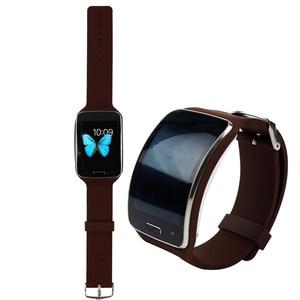 Замена наручных часов Ремешок ТПУ Браслет для Samsung Galaxy Gear S R750 Smartwatch Band товары Аксессуары Горячая Распродажа