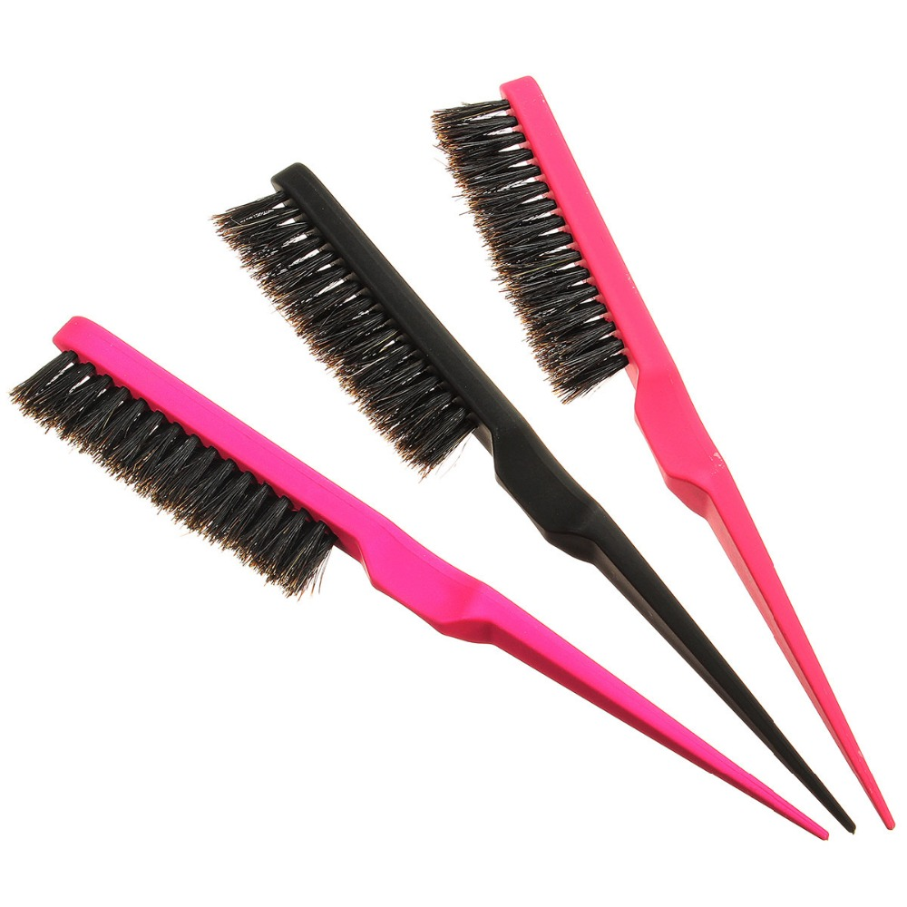 brush back. aliexpress.com : buy new pro hair brush advance techniques teasing back extension slim line comb salon tool random color from reliable