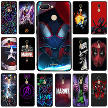 Get more info on the Marvel The Avengers Jorker Dead Pool Silicone phone case for Xiaomi Redmi 5A 6A 5 Plus 6 Pro 7 GO Note 4X 5 6 7 8 Pro