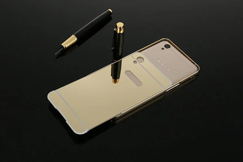 brand new 2b19a d0bc3 US $3.99 |Luxury Mirror Back Cover Case For OPPO Neo 9 A37 A37M 5.0