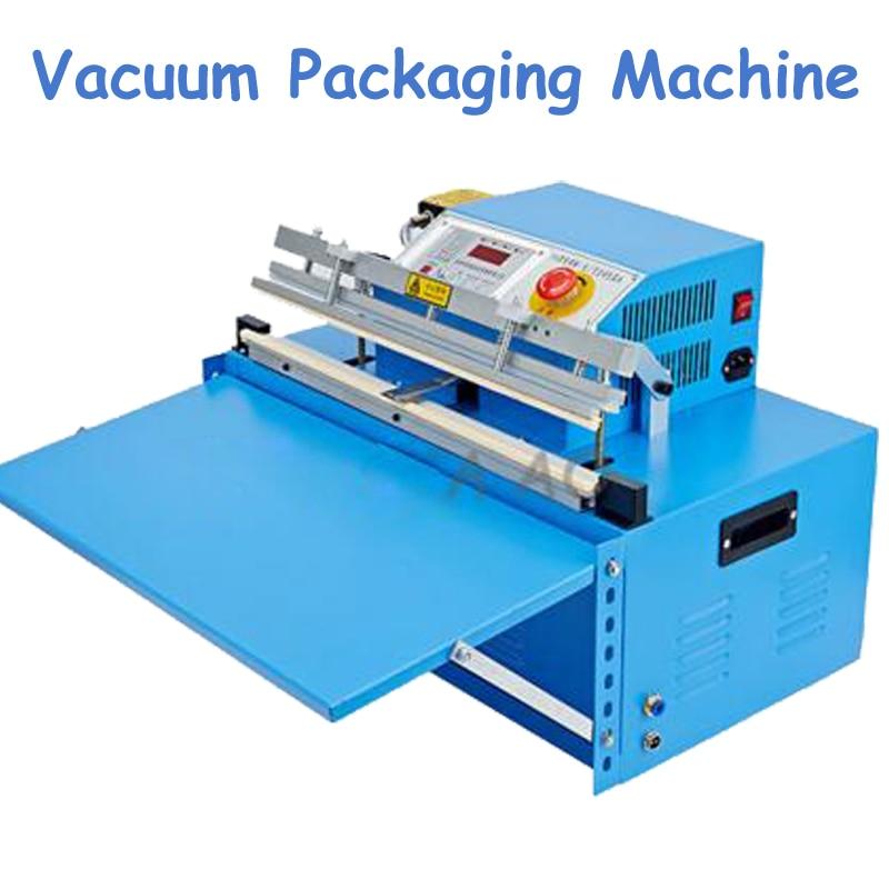 Automatic Vacuum Packaging Machine 110V/220V Vacuum Sealing Machine Commercial Counting Vacuum Packaging Machine commercial rolling vacuum marinated machine ka 6189 electric vacuum marinated chicken bacon machine 220v 20w
