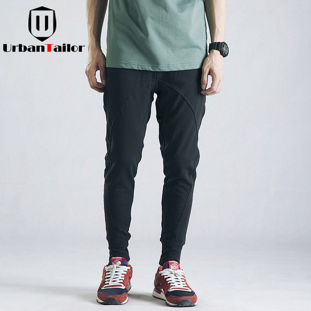 UrbanTailor 2018 Spring Tight Joggers Men Sweatpants Mens Casual Pants Male  Brand High Street Trousers Streetwear Men Clothing 35832cadef0a