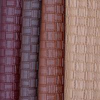 100 135cm Thick Pu Leather Furniture Colors Patterned Fabric Upholstery Material For Chairs Seat Sofa Leather