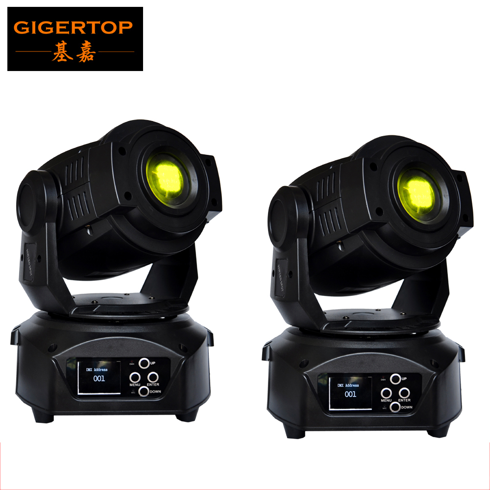 Freeshipping 2XLOT Concert Lighting 90W Led Gobo Moving Lights /Sharpy Beam Moving Head for Theater Party Disco DMX Controller