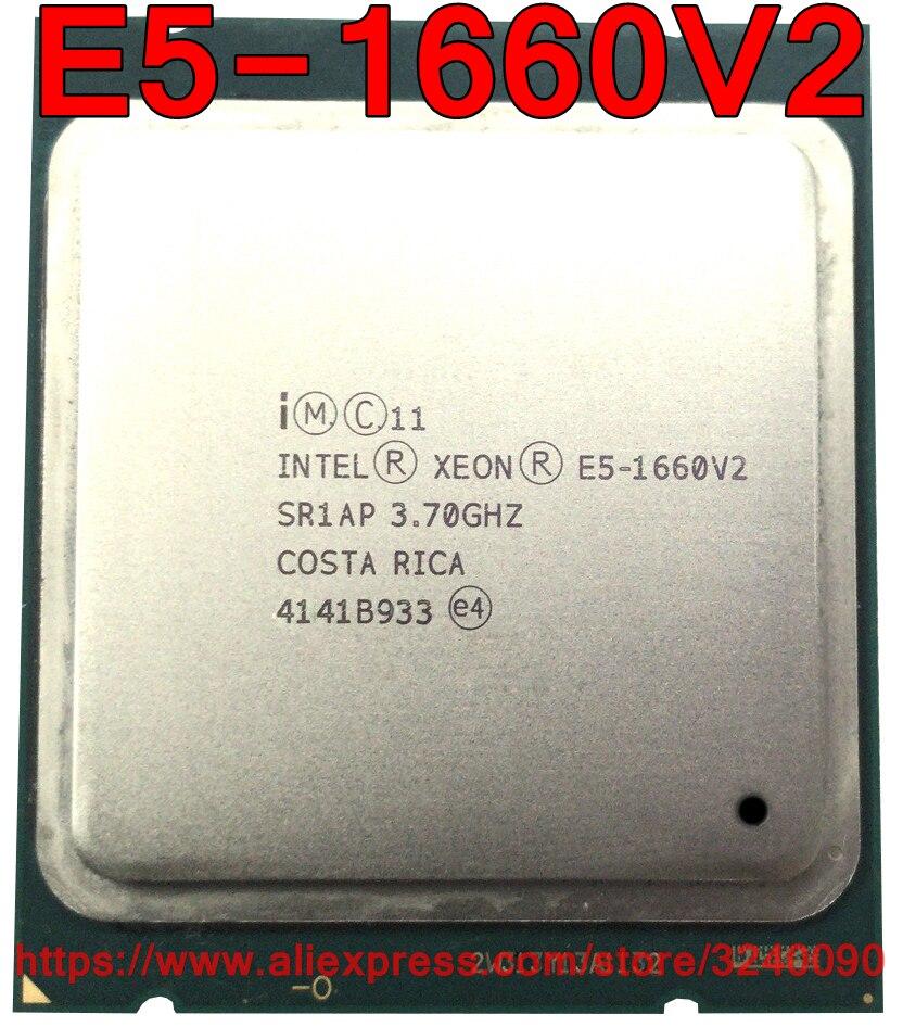 Intel Xeon CPU E5 1660V2 SR1AP 3 70GHz 6 Core 15M LGA2011 E5 1660V2 E5 1660