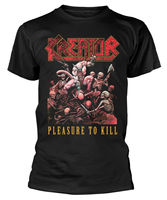 Kreator 'Pleasure To Kill' T Shirt NEW & OFFICIAL! 2019 fashion t shirt 100% cotton tee shirt tops wholesale tee 2019 hot tees