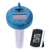 Buy Wireless Digital Swimming Pool SPA Floating Thermometer with Indoor Temperature Floating Pool and Spa Thermometer E5M1