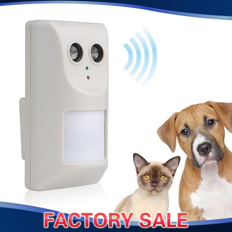 Electric Ultrasonic Infrared Banish Dog Cat Repellent