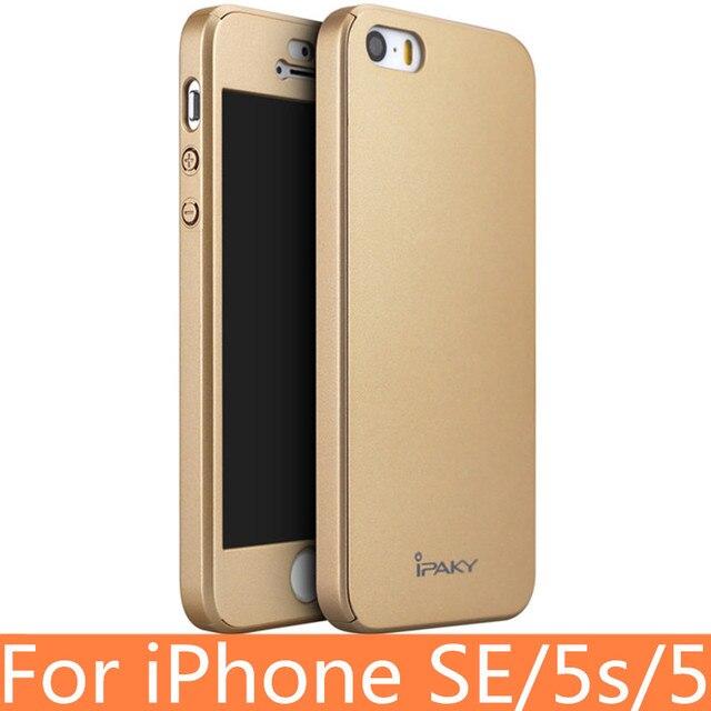 полное покрытие для Iphone Se Case оригинальный чехол Ipaky для
