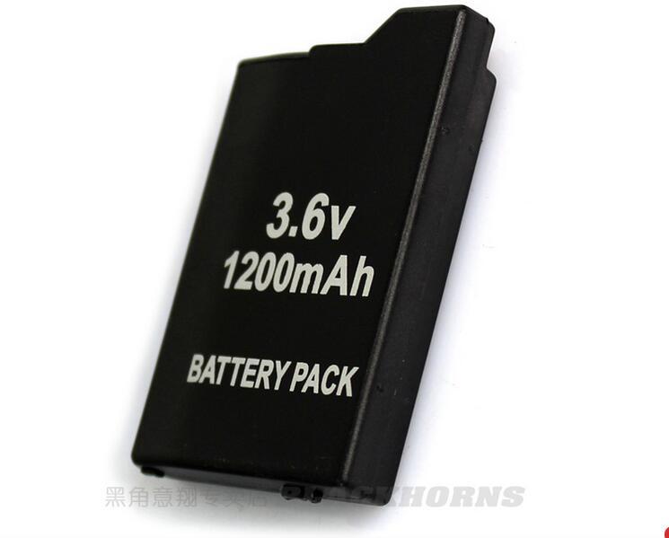 Blackhorns game accessories for PSP Battery with 1200mAh For SONY Lite,PSP 2th,PSP-2000,PSP-3000,PSP3001,PSP Silm Free Shipping 5v 2а дома власти сетевой адаптер зарядное устройство sony psp 1000 2000 3000 производственно 1 шт