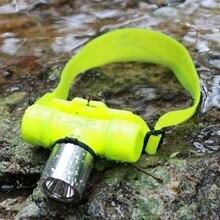 YUPARD Subaquática à prova d' Água 1000 Lumen XM-L T6 XML Farol 60 m Natação Mergulho Farol Head Light Tocha de Mergulho 18650/AAA