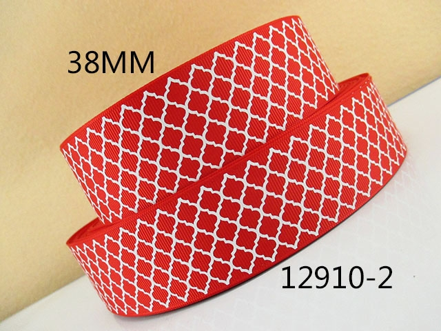5Y12910 kerryribbon лента 1,5 (38 мм) печатается Grosgrain ленты diy головные уборы Луки вечерние украшения мини-заказ $6 ...