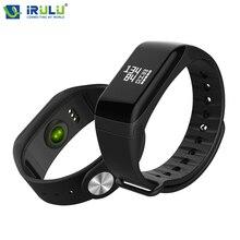 Горячие L8Star R3 smart Сердечного ритма Мониторы SmartBand IP67 Bluetooth 4.0 Беспроводные устройства Фитнес Спорт Шагомер SMS напоминание