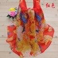 Nuevo 2016 de La Moda Suave Gasa Fina Bufanda de Seda pashmina bufanda de Las Mujeres del verano largo del mantón del cabo impresa tippet silenciador