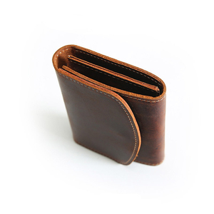 Image 4 - Coin Purse Men Wallets Genuine Leather Mini Purse with Zipper Pocket Slim Wallet Card Holder Small Change Pouch Male Billfold