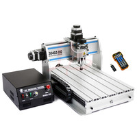 3040 ZQ USB 3axis mini CNC Router with mach3 remote control for small office diy wood wroking