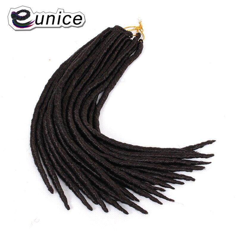 Extensiones de pelo de rastas de ganchillo con hebras sedosas ...