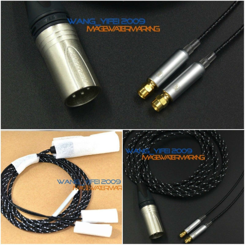 Amazing Balanced Upgrade Cable For HifiMan HE Series HE6 HE500 HE5LE HE4 HE300 HE560 HE400i Headphone XLR 4 Pins CANNON 2.5M плеер hifiman hm 901s balanced card