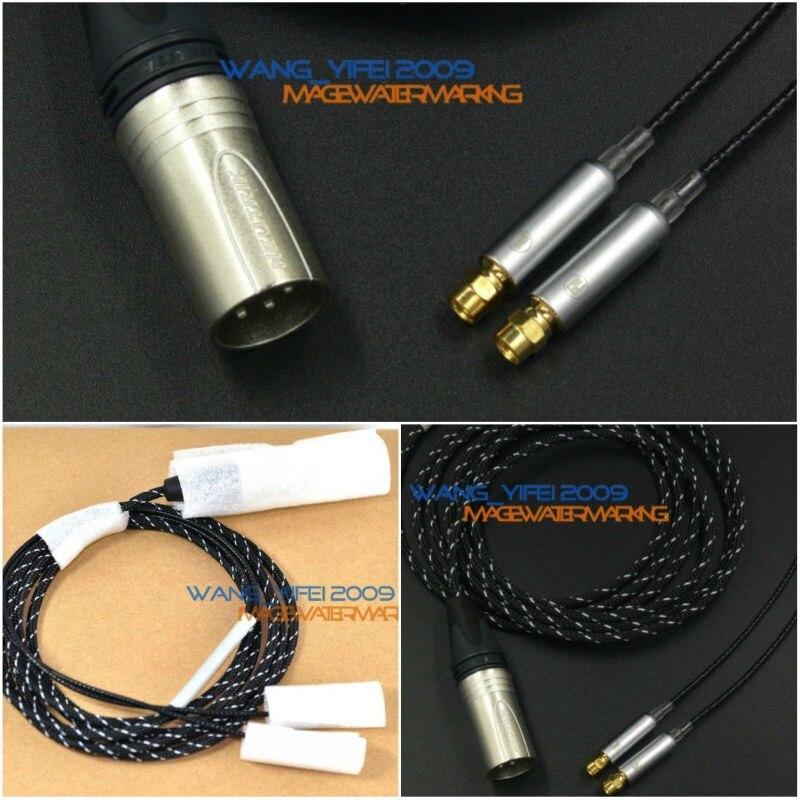 Incroyable Équilibré Câble de Mise À Niveau Pour HifiMan HE Série HE6 HE500 HE5LE HE4 HE300 HE560 HE400i Casque XLR 4 Broches CANON 2.5 M
