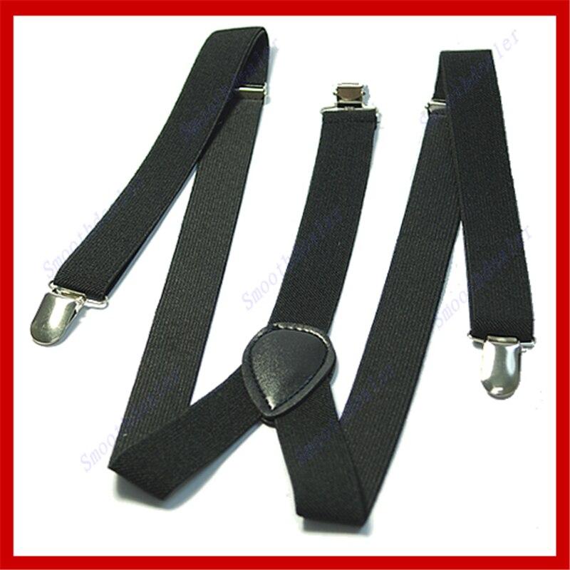 78e170fee 2018 Fashion Women s Men Elastic Y Shape Braces Strap Belt Mens Adjustable  Clip on Suspenders Solid New Long Belt-in Suspenders from Apparel  Accessories on ...