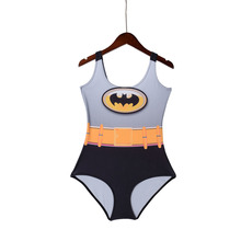 BATMAN Digital Print Swimwear